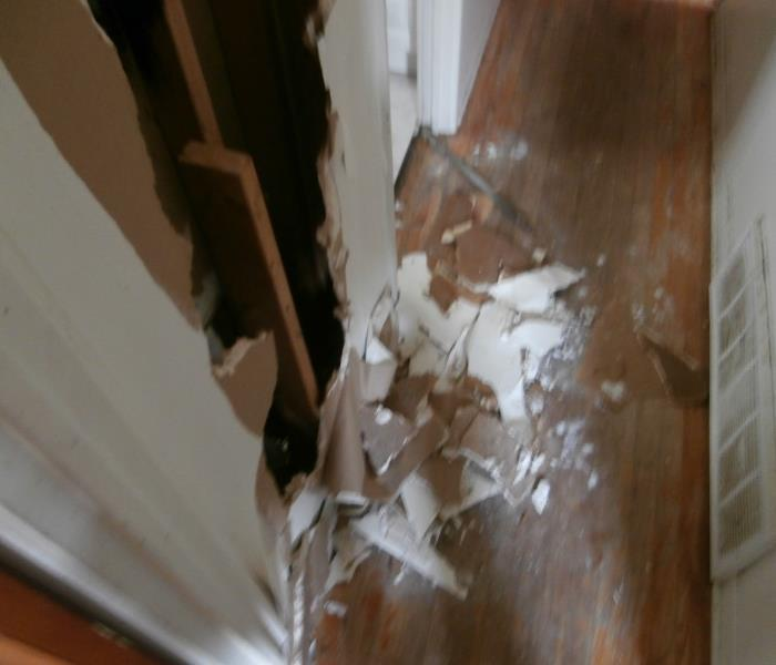 Water Damage from Vandalism in Chicago Before