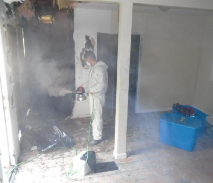 Fogging After a Fire in Orland Park, IL