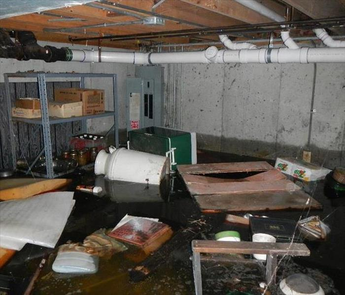 Flooded Basement In Orland Park