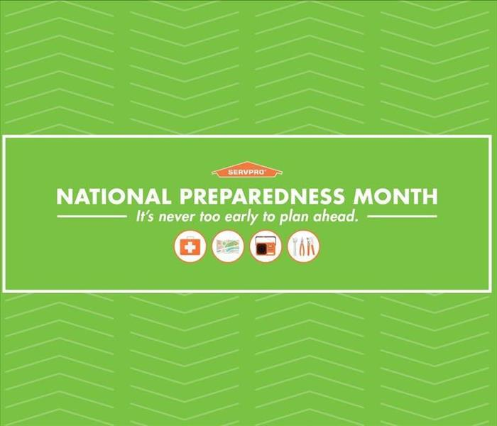Storm Damage SERVPRO Recognizes National Preparedness Month
