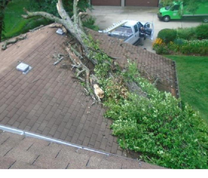 Storm Damage Being Prepared For A Storm In Orland Park